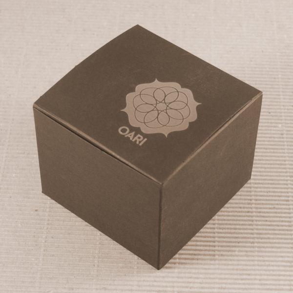 Foto delle scatole per confezioni dello Scatolificio Eugubino - modello Venus Pieghevole