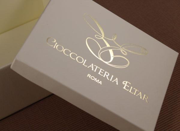 Foto delle scatole per confezioni dello Scatolificio Eugubino - modello Cordoba per cioccolatini