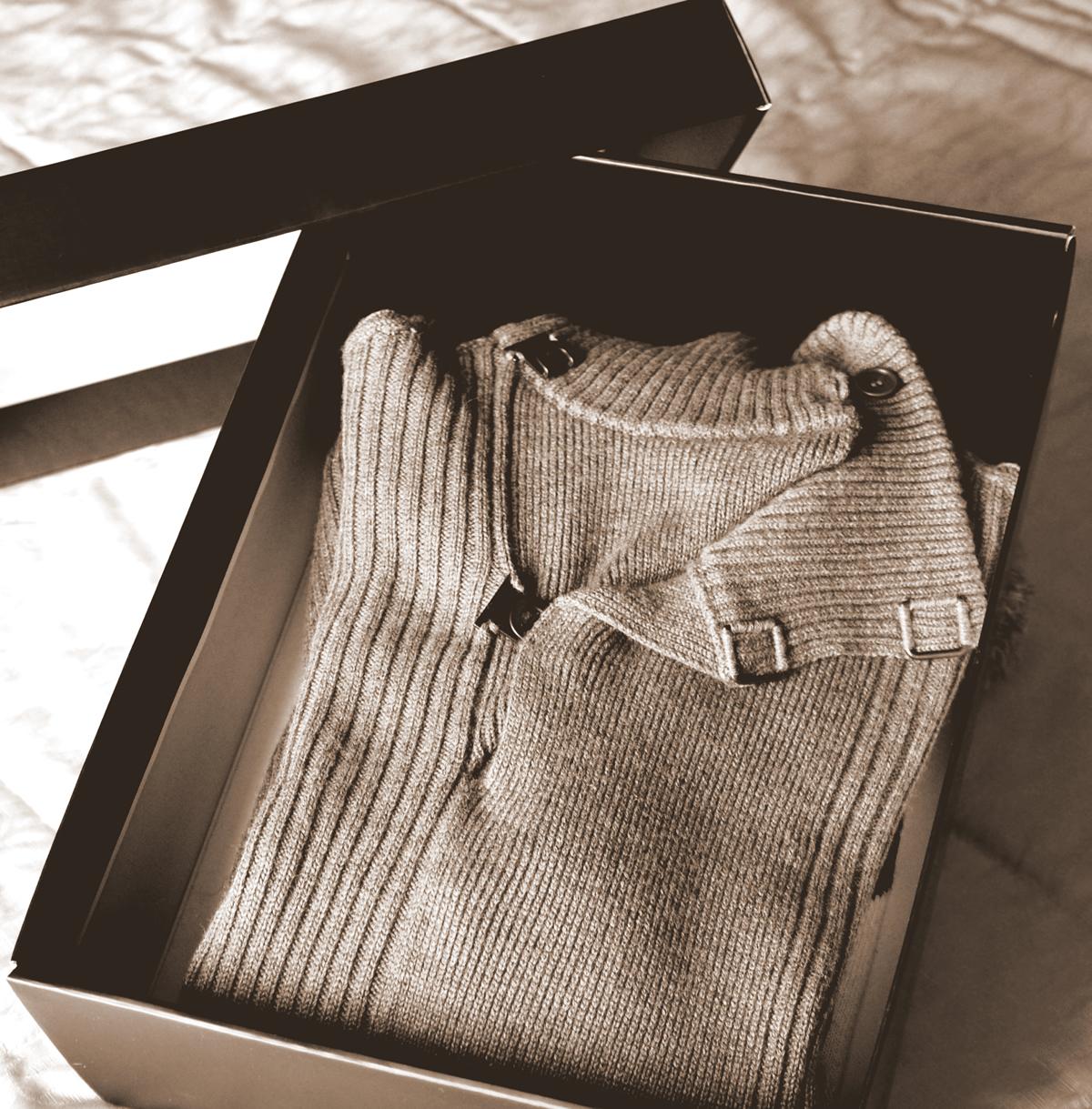 Tolosa Maglione scatola armadio