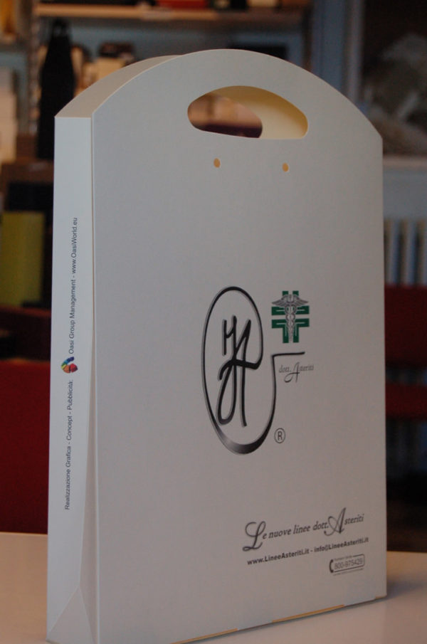 Foto delle scatole per confezioni dello Scatolificio Eugubino - modello Astra color avorio