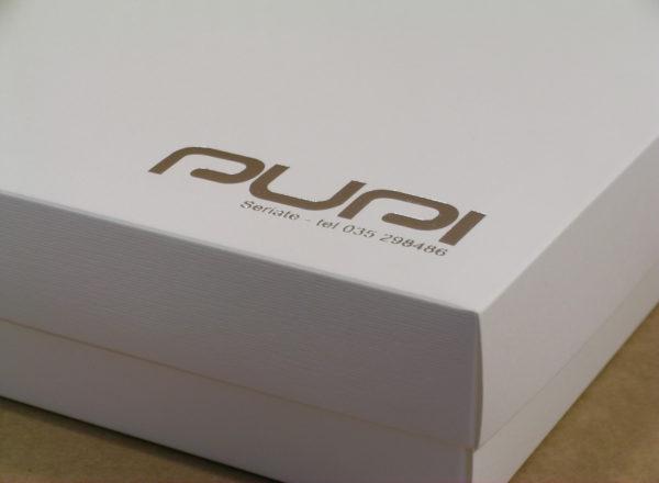 Foto delle scatole per confezioni dello Scatolificio Eugubino - modello Marmotta Doppia Parete color Bianco Neve
